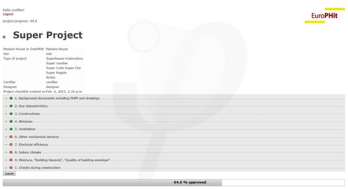 Certification Platform | EuroPHit